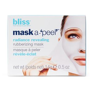 bliss Mask-A-Peel Radiance Revealing Rubberizing Mask