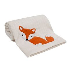 Lambs & Ivy Woodland Tales Fox Blanket