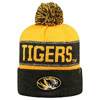 Adult Top of the World Missouri Tigers Below Zero Beanie