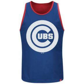 Big & Tall Majestic Chicago Cubs All Last Season Jersey Tank