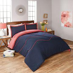 Vue Sapphire 3 pc Reversible Comforter Set