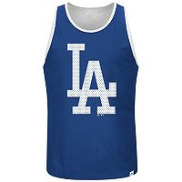 Big & Tall Majestic Los Angeles Dodgers All Last Season Jersey Tank