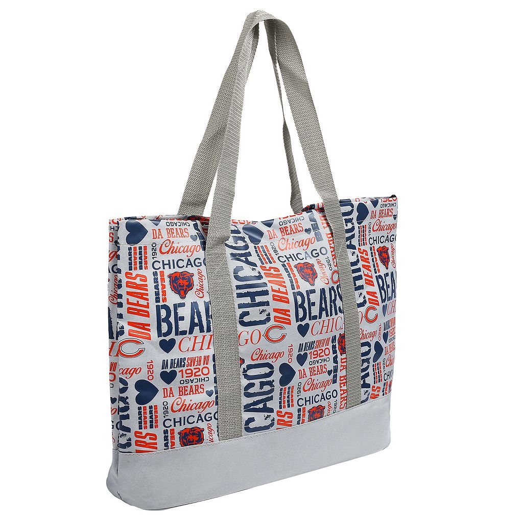 Forever Collectibles Chicago Bears Collage Tote