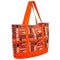 Forever Collectibles Denver Broncos Collage Tote