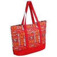 Forever Collectibles San Francisco 49ers Collage Tote