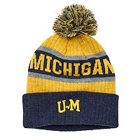 Adult Top of the World Michigan Wolverines Below Zero Beanie