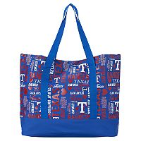 Texas Rangers Collage Tote