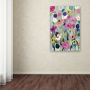 Trademark Fine Art Too Pretty To Pick Canvas Wall Art