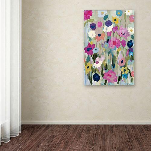 Trademark Fine Art Too Pretty To Pick Canvas Wall Art