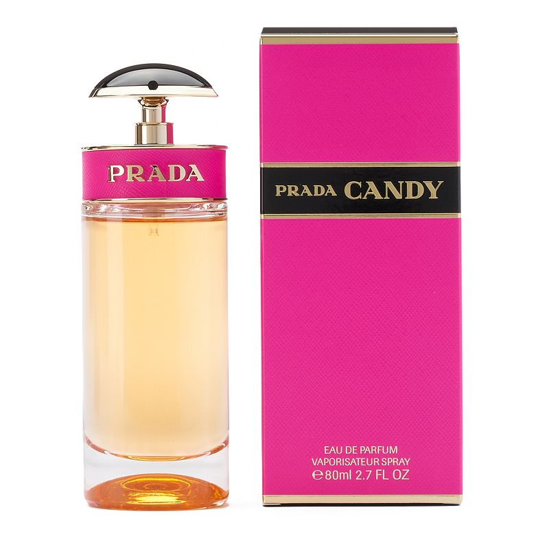 Prada Candy Women's Perfume - Eau de Parfum, Multicolor Creamy, sweet and delicious - just like Candy! This Prada women's perfume is light and delectable without the stickiness of the real thing. Fragrance Notes Musk, benzoin and caramel Fragrance Details 2.7-oz. Eau de parfum Size: 2.70 Oz. Color: Multicolor. Gender: Female.