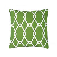 Jill Rosenwald Chain Square Throw Pillow