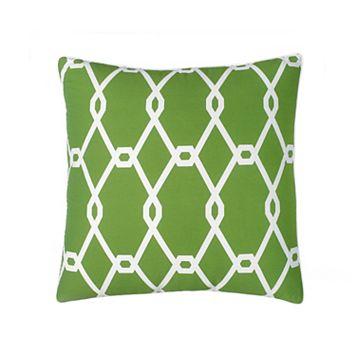 Jill Rosenwald Chain Square Throw Pillow