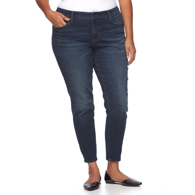 Plus Size Apt. 9? Sculpting Skinny Jeans
