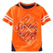 Boys 4-8 OshKosh B'gosh® Short Sleeve 'All-Star' Pieced Active Tee