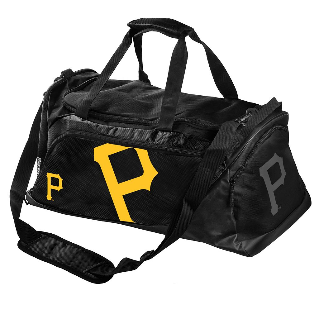 Pittsburgh Pirates Locker Room Collection Medium Duffel Bag