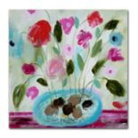 Trademark Fine Art Winter Blooms II Canvas Wall Art