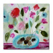 Trademark Fine Art Winter Blooms II Canvas Wall Art