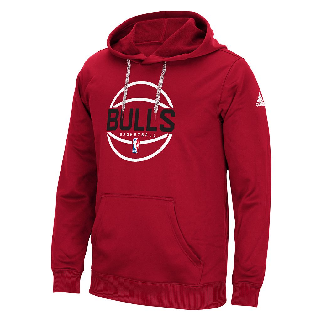 Men's adidas Chicago Bulls New Ball Hoodie
