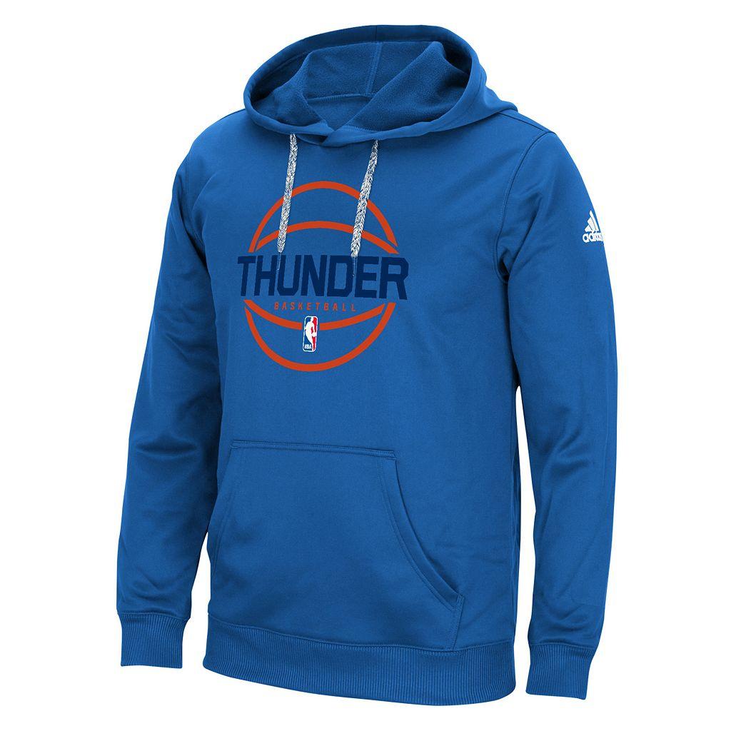 Men's adidas Oklahoma City Thunder New Ball Hoodie