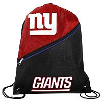 Forever Collectibles New York Giants Zipper Drawstring Backpack