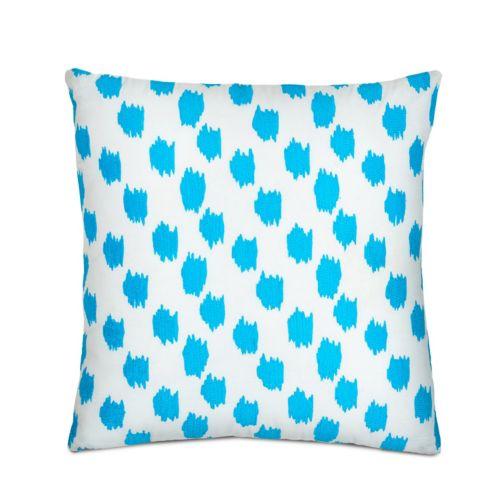 Jill Rosenwald Greek Key Embroidered Throw Pillow
