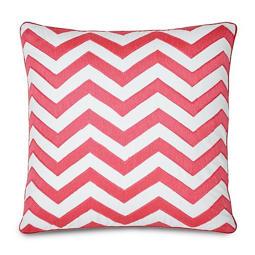 Jill Rosenwald Multi Patch Throw Pillow