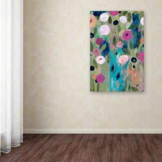 Trademark Fine Art Entwined Canvas Wall Art