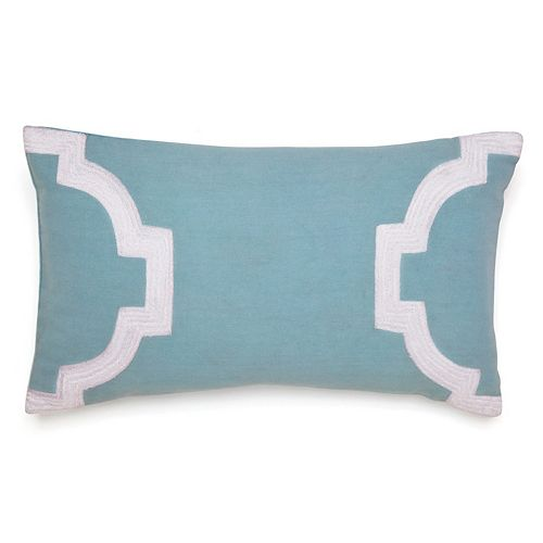 Jill Rosenwald Copley Newport Gate Throw Pillow