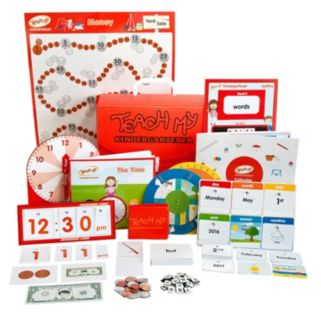 Teach My Kindergartener Deluxe Learning Kit