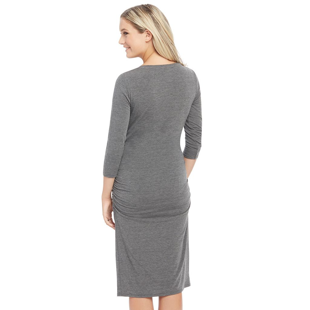 Maternity Oh Baby by Motherhood™ Ruched Dress