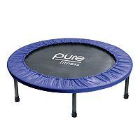 Pure Fitness 40-Inch Mini Trampoline Rebounder