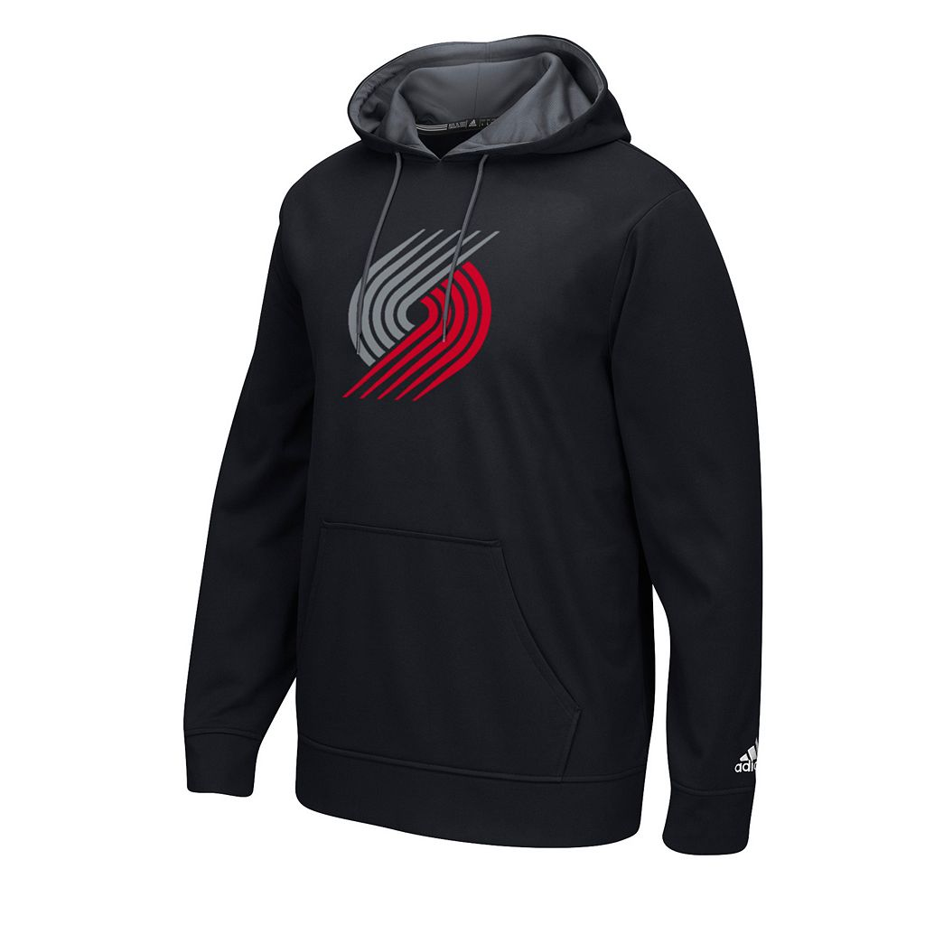 Men's adidas Portland Trail Blazers Fleece Tip Off Playbook Hoodie