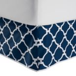 Jill Rosenwald Copley Hampton Links Reversible Bed Skirt