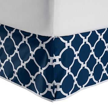 Jill Rosenwald Copley Hampton Links Reversible Bed Skirt