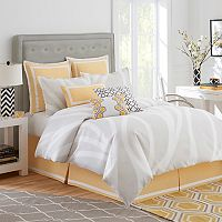 Jill Rosenwald Groton Swirl Reversible Bed Set