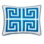 Jill Rosenwald Greek Key Sham