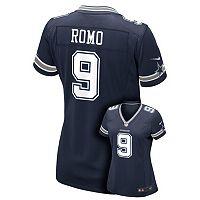 Women's Nike Dallas Cowboys Tony Romo Replica Jersey
