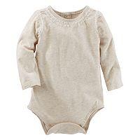 Baby Girl OshKosh B'gosh® Tulle Ruffle Bodysuit