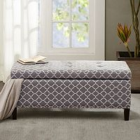 Madison Park Shandra II Storage Bench