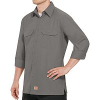 Men's Red Kap Classic-Fit Ripstop Work Shirt