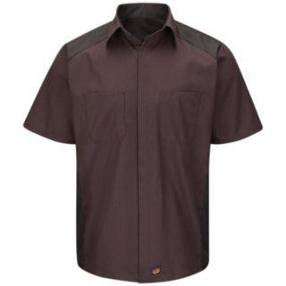Men's Red Kap Classic-Fit Striped Button-Down Shirt