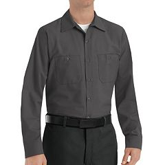 Men's Red Kap Classic-Fit Industrial Button-Down Work Shirt