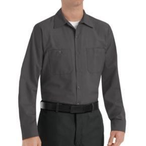 Men's Red Kap Classic-Fit Industrial Button-Down Work Shirt