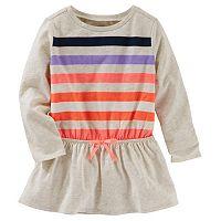 Toddler Girl OshKosh B'gosh® Dolman Long Sleeve Striped Tunic