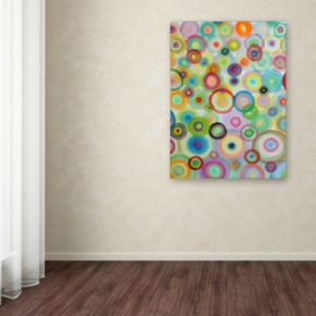 Trademark Fine Art Bulles Canvas Wall Art