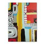 Trademark Fine Art Chemins Canvas Wall Art