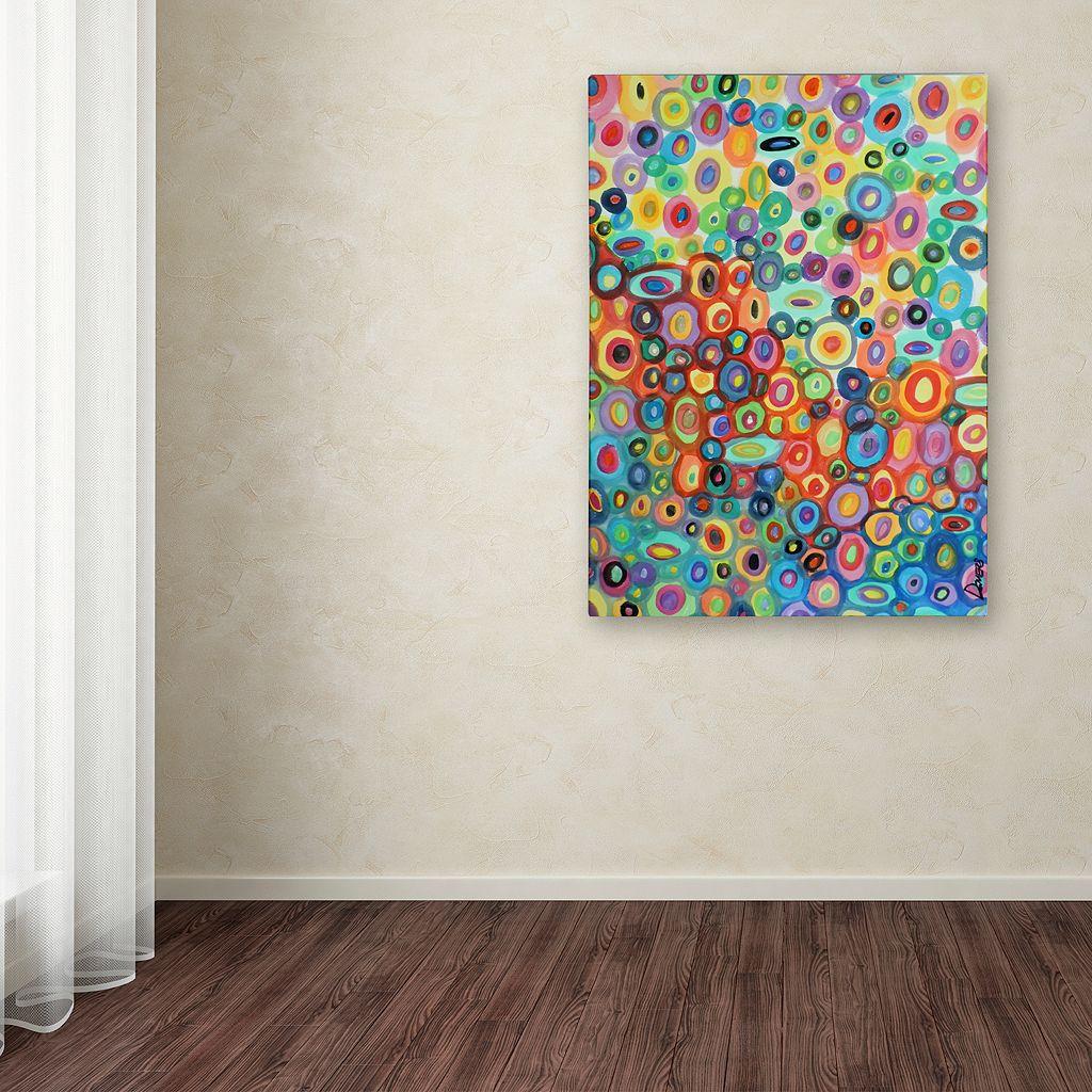 Trademark Fine Art First Love Canvas Wall Art