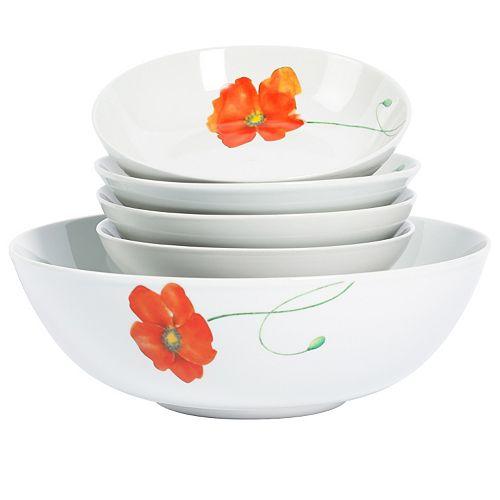 Gallery Poppy 5-pc. Pasta Serving Set
