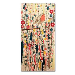 Trademark Fine Art Je Ne Suis Pas Quun Oiseau Canvas Wall Art