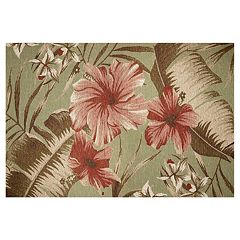 KAS Rugs Horizon Hibiscus Indoor Outdoor Rug